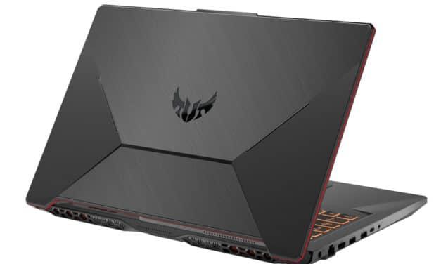 Asus TUF706IU-H7325T, PC portable gamer 17 pouces polyvalent et rapide avec GTX 1660 Ti (996€)