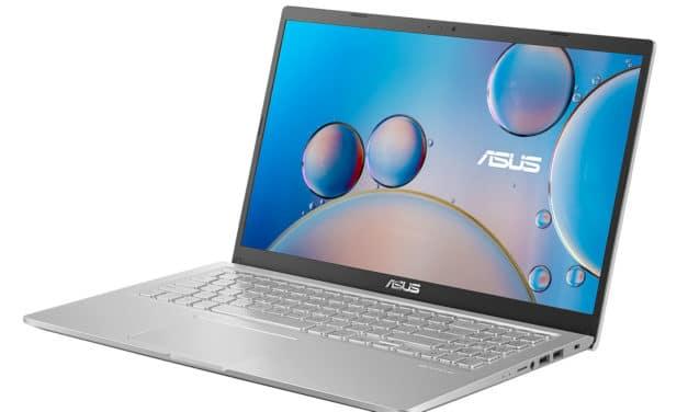 Asus VivoBook F515JA-BQ880T, ultrabook 15 pouces pas cher, rapide et productif (499€)