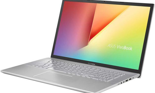 """Asus Vivobook S17 S712JA-BX336T, Ultrabook 17"""" argent fin rapide et léger avec 16 Go de RAM (799€)"""