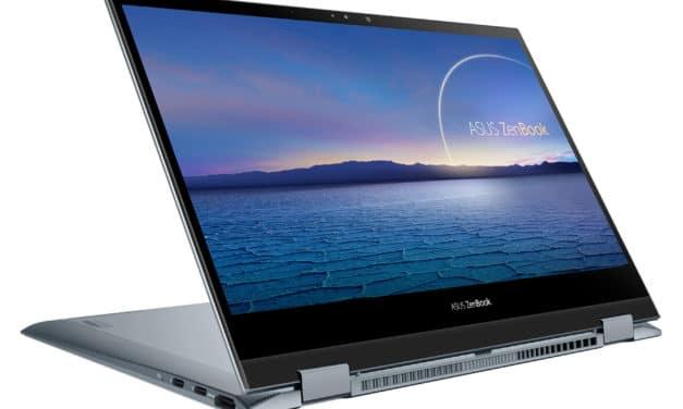Asus ZenBook Flip 13 UX363JA-EM045T, ultrabook 13 pouces convertible en tablette premium (1279€)