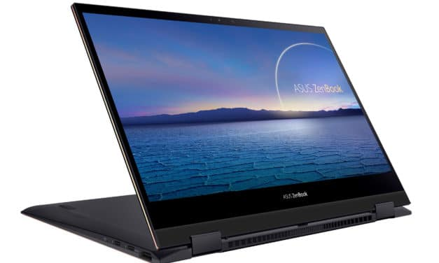 "<span class=""promo"">Promo 1599€</span> Asus ZenBook Flip S UX371EA-HL018T, ultrabook 13"" convertible en tablette léger 4K OLED"
