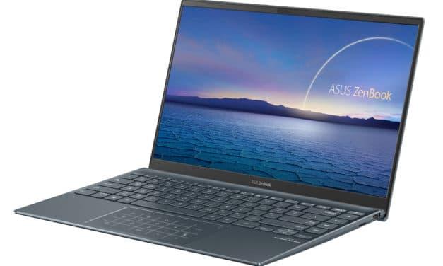 Asus ZenBook UX435EAL-BM023T, ultrabook 14 pouces ultraléger moins de 1kg pour la productivité (1429€)