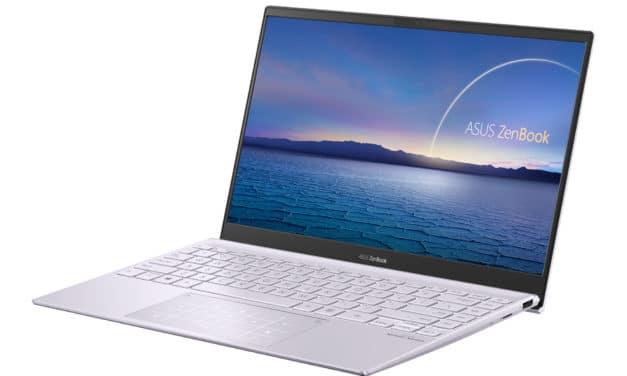 Asus Zenbook 13 UX325EA-KG315T, ultrabook 13 pouces rose avec écran OLED, léger et productif (1299€)