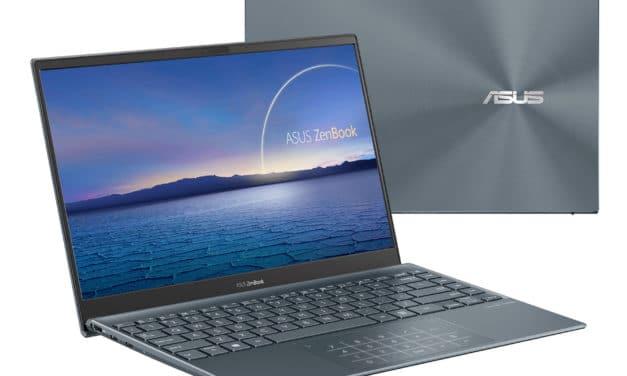"""<span class=""""promo-best"""">Promo 799€</span> Asus Zenbook UM325UA-KG008T, ultrabook 13 pouces léger avec écran OLED et Ryzen 5 Hexa Core"""