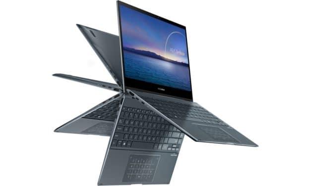 """<span class=""""promo"""">Promo 1449€</span> Asus Zenbook UX363EA-EM042T, Ultrabook 13"""" tactile > Tablette polyvalent léger et rapide NumPad Tiger Lake Iris Xe TB4"""