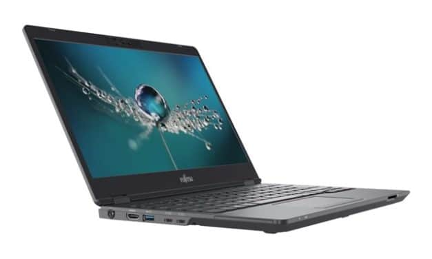 "Fujitsu Lifebook U7311, U7411 et U7511, Ultrabooks 13"", 14"" et 15"" Tiger Lake Iris Xe orienté Pro avec TB4 et 5G"