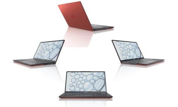 "Fujitsu Lifebook U9311 et U9311X, Ultrabooks 13"" (tactile > Tablette) Tiger Lake Iris Xe très léger 756 gr 12h avec TB4 Wi-Fi ax 5G"
