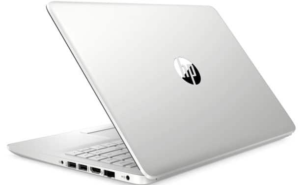 HP 14-dk1016nf, ultraportable 14 pouces pas cher et rapide pour la bureautique (499€)
