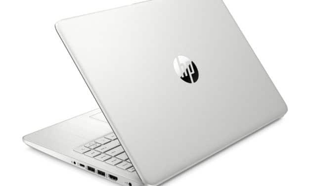 """<span class=""""promo"""">Promo 569€</span> HP 14s-fq0117nf, ultrabook 14 pouces pas cher, rapide et productif"""