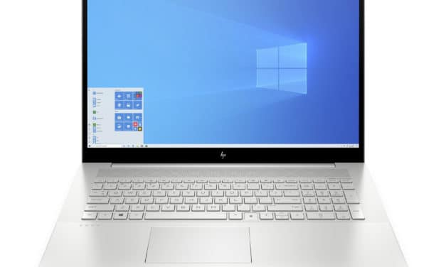 HP Envy 17-cg1033nf, PC portable 17 pouces fin et rapide avec MX450 et gros stockage 1,2 To (1249€)