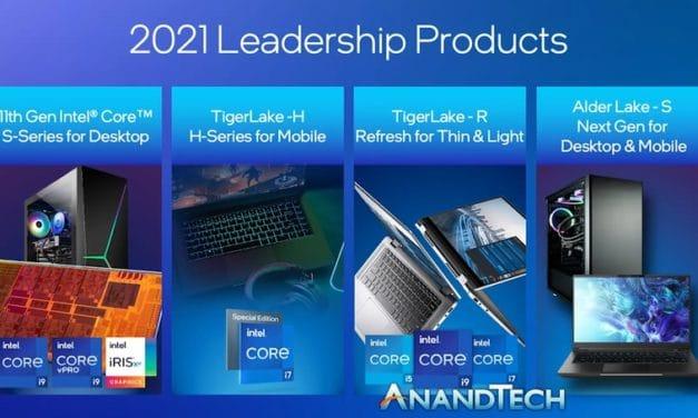 "<span class=""tagtitre"">Intel - </span>des processeurs Tiger Lake-U Refresh basse consommation en attendant les Alder Lake"