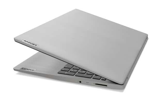 """<span class=""""nouveau"""">Nouveau 525€</span> Lenovo IdeaPad 3 15ADA05 (81W10024FR), PC portable 15"""" pas cher argent léger fin et rapide"""