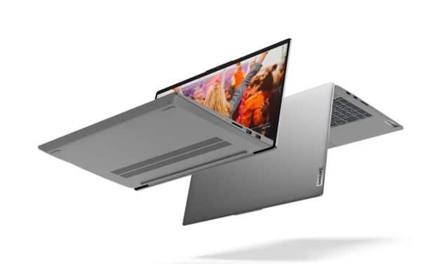 """Lenovo IdeaPad 5 15ALC05, nouveau PC portable 15"""" aluminium polyvalent coloré fin et léger AMD Ryzen 5000U 17h"""