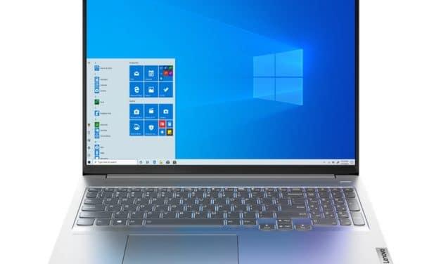 """Lenovo IdeaPad 5 Pro 16ACH6 et 16IHU6, PC portables 16"""" 120Hz puissants fins et légers AMD Cezanne ou Intel Tiger Lake-H, NVIDIA GeForce TB4"""