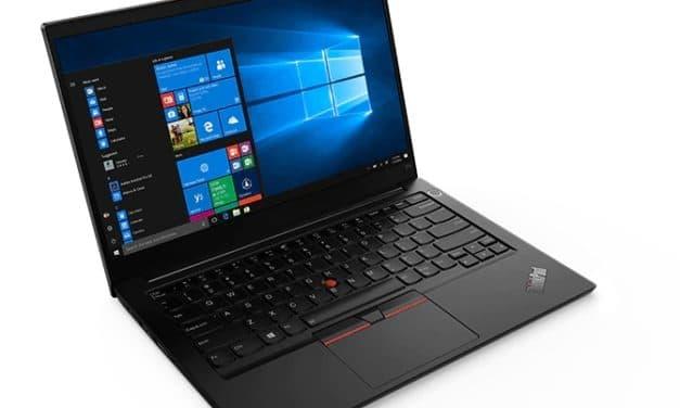 "Lenovo ThinkPad E14 Gen 3, PC portable 14"" AMD Ryzen 5000U fin léger nomade 15h en noir ou argent TrackPoint Wi-Fi ax"
