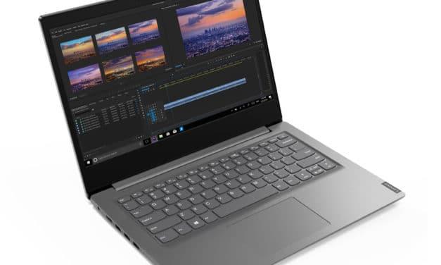 "Lenovo V14 IIL (82C400SFFR), Ultrabook 14"" Full HD argent Pro léger rapide et fin avec SSD (599€)"