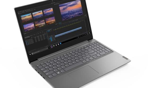 """Lenovo V15 ADA (82C7007PFR), PC portable 15"""" argent pas cher bureautique fin et léger avec gros stockage 1 To (359€)"""