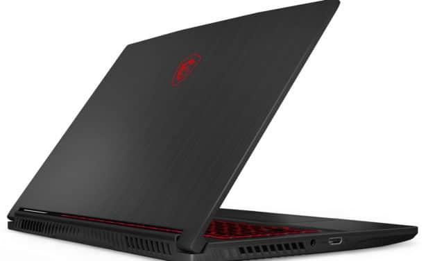 """<span class=""""promo"""">Promo 1099€</span> MSI GF65 10UE-034XFR, PC gamer 15 pouces fin et léger avec RTX 3060 Max-Q"""