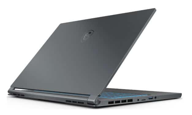 MSI Stealth 15M A11SDK-080FR, ultrabook 15 pouces polyvalent pour créatif et joueur avec GTX 1660 Ti (1629€)