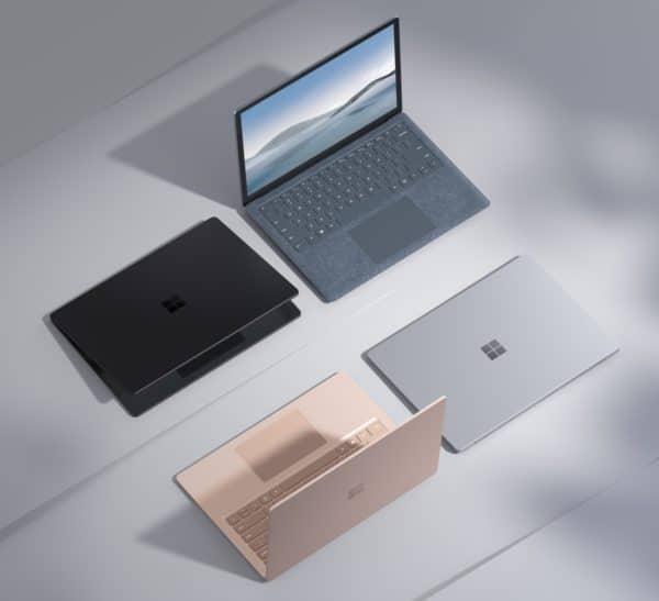 Microsoft Surface Laptop 4 officiel