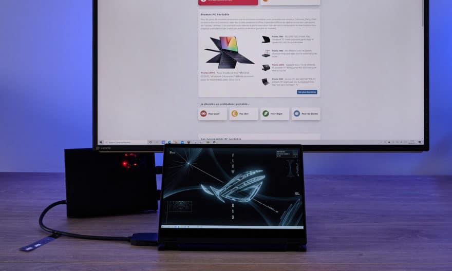 Test Asus ROG Flow X13 GV301- un ultrabook tablette unique en son genre (Ryzen 9 / RTX 3080)
