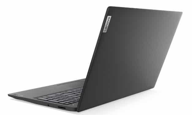 Lenovo IdeaPad 3 15IIL05, ultrabook 15 pouces léger, rapide et pas cher pour la bureautique (449€)