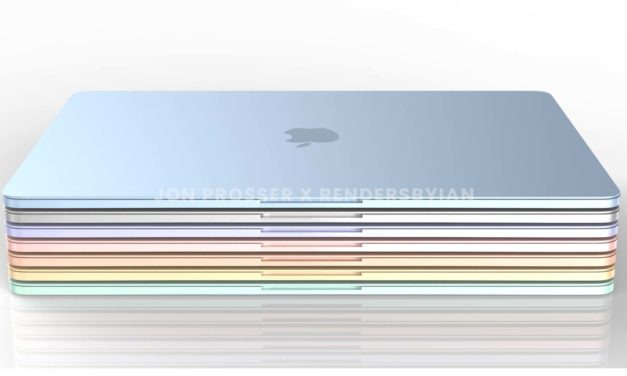 """<span class=""""tagtitre"""">Apple - </span>le futur MacBook Air avec processeur Apple Silicon M2 se dévoile et marque le retour de la couleur"""