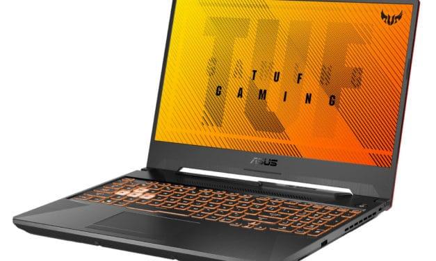 Asus A15 TUF506IU-HN416T, PC portable gamer 15 pouces avec écran 144Hz et GTX 1660 Ti (899€)