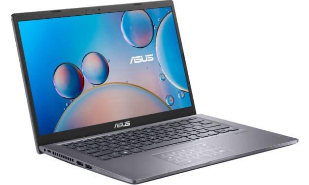 """<span class=""""nouveau"""">Nouveau 599€</span> Asus P1400CJA-BV486R, Ultrabook 14"""" Pro argent rapide léger et fin avec SSD 512 Go et NumPad"""