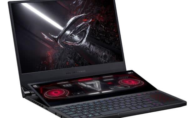 """Asus ROG Zephyrus Duo 15 SE GX551QR-006T, PC portable fin 15"""" gamer créateur double écran RTX 3070 AMD Ryzen 9 RAM 32 Go (2974€)"""