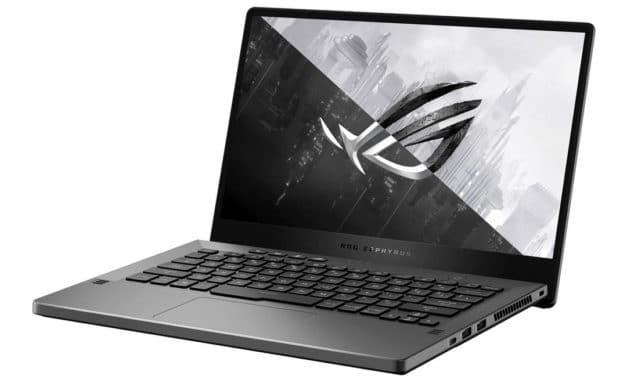 """Asus ROG Zephyrus G14 GA401QM-HZ235T, PC portable 14"""" 144Hz fin et léger pour jouer et créer RTX 3060 AMD Octo Core RAM 32 Go (2149€)"""