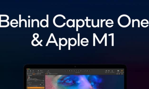 Capture One Pro 21 enfin optimisé pour les Apple M1 MacBook Pro / Air / iMac
