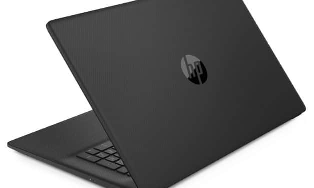 HP 17-cn0477nf, PC portable 17 pouces léger, productif et rapide (579€)