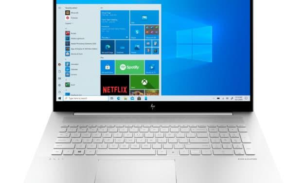 """<span class=""""soldes-best"""">Soldes 1044€</span> HP Envy 17-ch0021nf, ultrabook 17 pouces productif et sobre avec écran 4K RGB et MX450"""