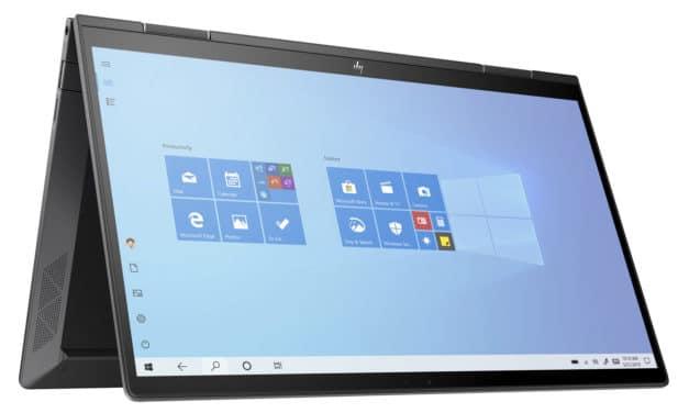 """HP Envy x360 13-ay0033nf, ultrabook 13"""" tactile convertible en tablette puissant Hexa Core (899€)"""