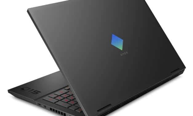 """<span class=""""soldes"""">Soldes 1661€</span> HP Omen 15-ek1047nf, PC portable gamer 15 pouces avec écran 300Hz et RTX 3070"""