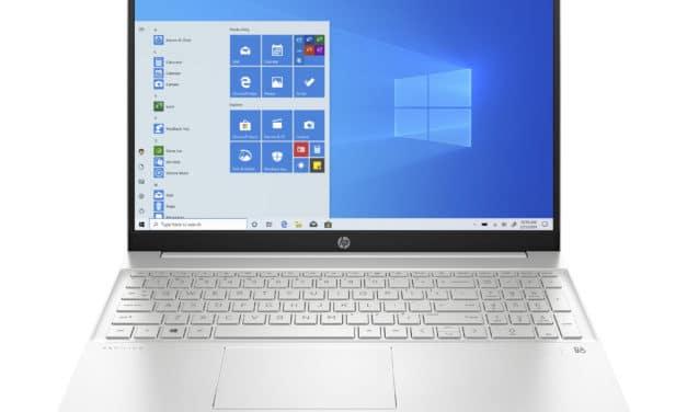 HP Pavilion 15-eg0067nf, ultrabook 15 pouces productif et rapide avec 16 Go de RAM (799€)