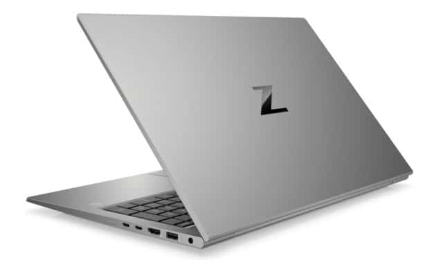 "HP Zbook Firefly 15 G8 (2C9R5EA), Ultrabook 15"" polyvalent Pro NVIDIA Quadro 9h rapide fin et léger TB4 (2086€)"