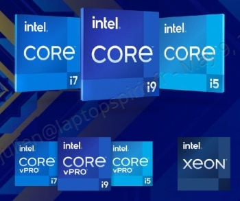 """<span class=""""tagtitre"""">Intel - </span>Tiger Lake-H et Xeon, 10 nouveaux processeurs mobiles performants Hexa Core et Octo Core de 35W à 65W pour PC portables puissants"""