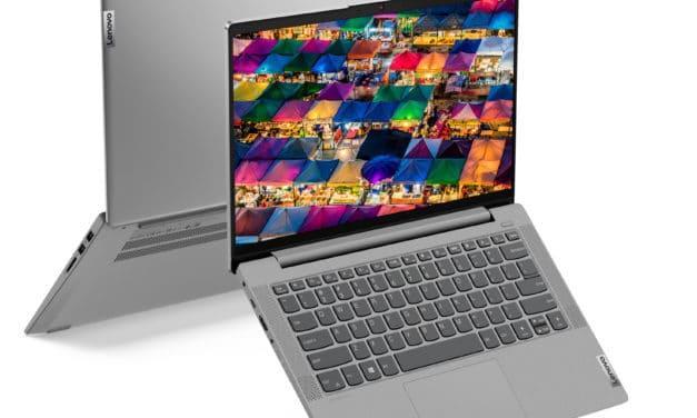 Lenovo IdeaPad 5 14ARE05, ultrabook 14 pouces léger et productif avec Hexa Core (599€)