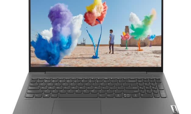 Lenovo IdeaPad 5 15ARE05, ultrabook 15 pouces léger et polyvalent avec une bonne autonomie (649€)