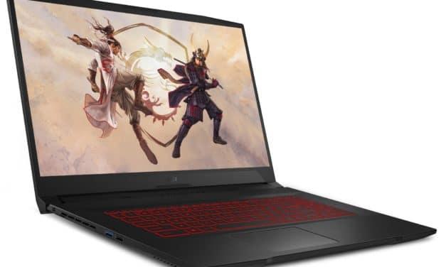 "<span class=""promo"">Promo 1499€</span> MSI GF76 11UEK-050FR, PC portable gamer 17 pouces léger avec RTX 3060 et 1,2 To de stockage"