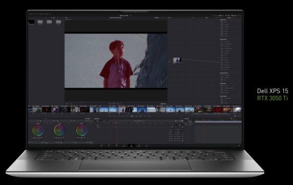 NVIDIA GeForce RTX 3050 et RTX 3050 Ti officielles Dell XPS 15