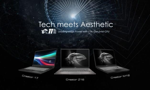 MSI Creator 17, M16, Z16 : nouveaux PC portable créatif puissants