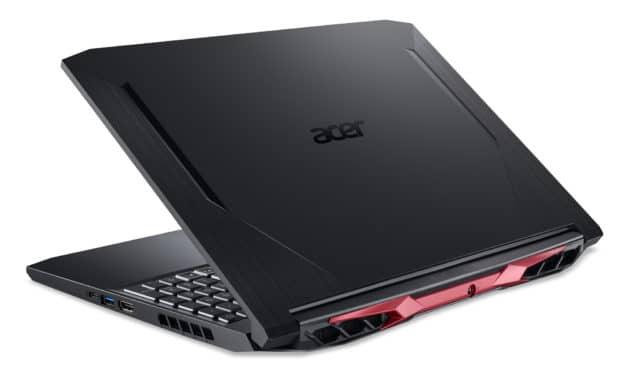 """Acer Nitro 5 AN515-55-55TD, PC portable 15"""" polyvalent performant orienté jeu et création avec GTX 1660 Ti (1000€)"""