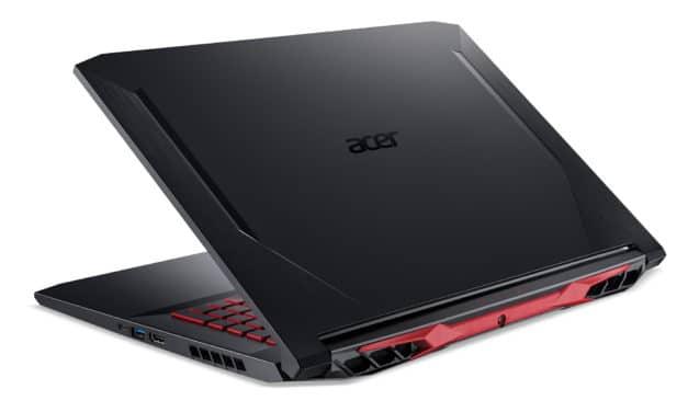 """Acer Nitro 5 AN517-52-538U, PC portable 17"""" 120Hz polyvalent noir pour jouer et créer GTX 1650 Ti (1109€)"""