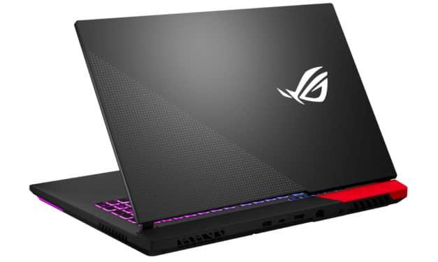 "Asus ROG Strix G17 G713QE-HX008T, PC portable 17"" 144Hz gamer créateur RTX 3050 Ti Octo Core AMD (1599€)"