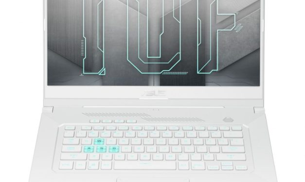 Asus TUF Dash TUF516PM-HN072T, ultrabook gamer 15 pouces blanc sobre et polyvalent avec RTX 3060 (1299€)