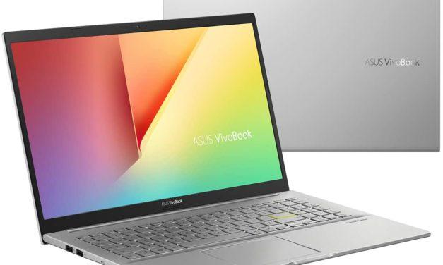 """Asus Vivobook S15 S533UA-BQ146T, PC portable 15"""" polyvalent argent AMD fin léger et rapide (699€)"""