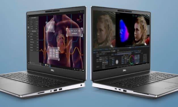 """Dell Precision 7560 et 7760, PC portables 15"""" 4K station de travail performants pour professionnels 5G avec Tiger Lake-H et NVIDIA RTX Ampere Pro"""